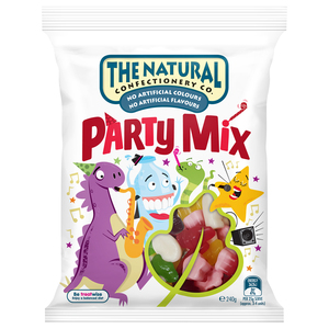 The Natural Confectionary Company Jelly Party Mix 240g
