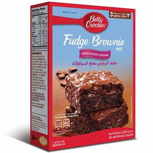 Betty Crocker Brownie Mix Chocolate Chunk 1s