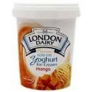 London Dairy Ice Cream Mango Yoghurt 500ml