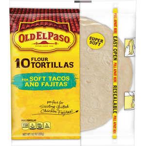 Old El Paso Tortillas Flour 1pc