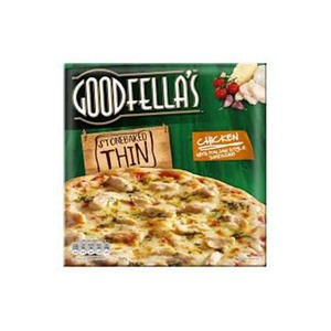 Goodfellas Pizza Thin & Crispy Halal Roast Chicken 150g