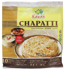 Kawan Kg Frozen Chappatti 10s