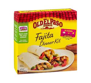 Old El Paso Fajito Dinner Kit 1pc