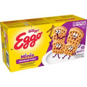 Kellogg's Eggo Waffles Cinnamon Toast 10.75oz