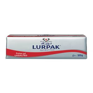 Lurpak Unsalted Butter Block 100g