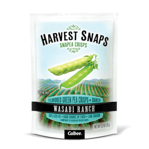 Harvest Snaps Chips Green Pea Wasabi 93g