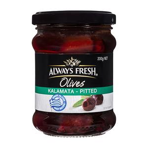 Always Fresh Kalamata Olives 200gm