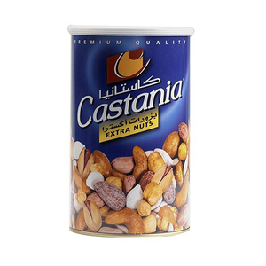 Castania Extra Mixed Nuts Can 450g