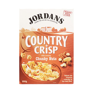 Jordans Country Crisp Chunky Nuts Cereal 500gm
