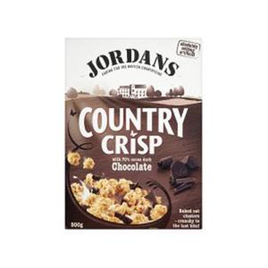 Jordans Country Crisp Dark Chocolate 500gm