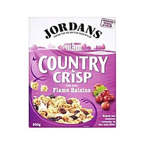 Jordans Country Crisp Raisin 500gm