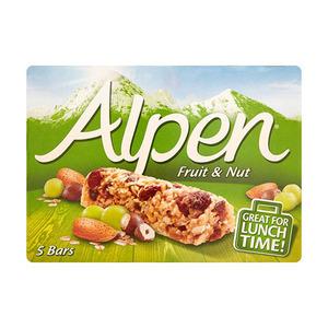 Alpen Fruit & Nut Bars 140gm