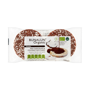 Bunalun Milk Chocolate Coconut Rice Cake 100gm