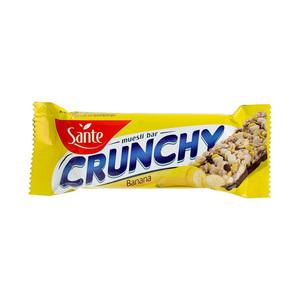 Sante Crunchy Banana Cereal Bar 40g