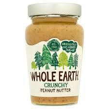 Whole Earth Peanut Butter Crunchy 340g