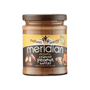 Meridian Organic Peanut Butter Crunchy 280gm
