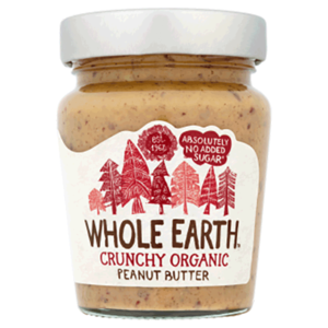 Whole Earth Organic Peanut Butter Crunchy 227g
