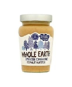 Whole Earth Organic Peanut Butter Smooth Original 227g