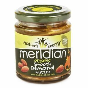 Meridian Organic Almond Butter Smooth 170g