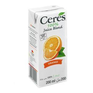 Ceres Juice Orange 200ml