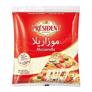 President Cheese Shredded Mozzarella 450gm
