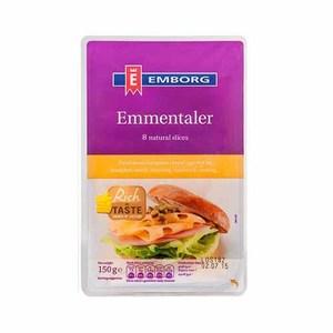 Emmental Cheese Slice 150gm