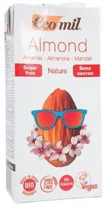 Ecomil Almond Drink Nature Sugars Free 1L
