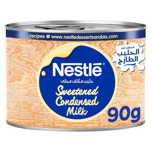 Nestle Sweetened Condensed Milk 90g