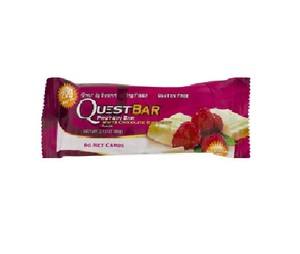 Quest White Chocolate Raspberry Protein Bar 2.12oz