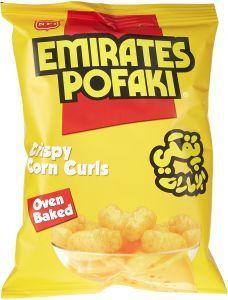 Emirates Pofaki Cheese Corn Curls 80g