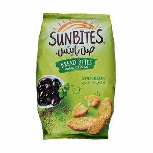 Sunbites Chips Olive&Oregano 50gm