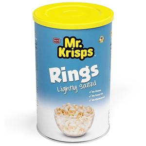 Mr.Krisps Rings Salted Potato 65g