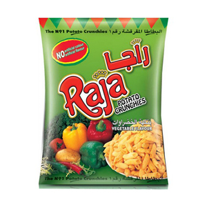 Raja Potato Crunchies Vegetable 70g