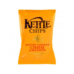 Kettle Chips Cheese And Onion 150g