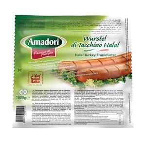 Amadori Turkey Frankfurter Sausages 250g