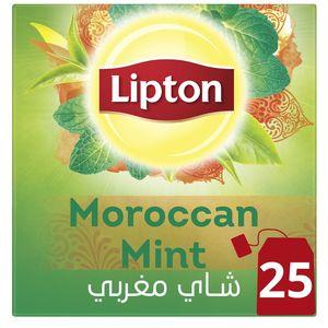 Lipton Green Tea Moroccan Mint 25s