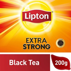 Lipton Extra Strong  Black Loose Tea 200g