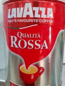 Lavazza Qualita Rossa Esp Cof Tin102 250gm