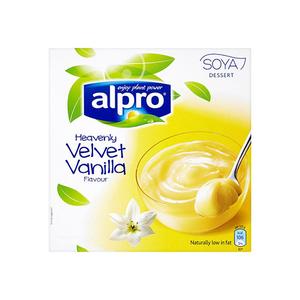 Alpro Soya Dairy Free Vanilla Dessert 125gm