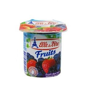 Elle & Vire Yoghurt Mixed Berry 125g