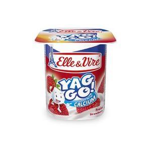 Elle & Vire Yaggo Strawberry 125g