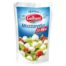 Galbani Mozzarella Snack 125gm