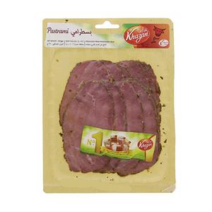 Khazan Sliced Beef Pastrami 250g