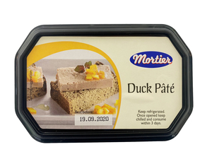 Mortier Pate Duck Liver Tub 175g