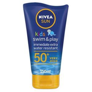 Nivea Sun Kids Swim & Play UVA & UVB Protection Lotion SPF 50+ 150ml