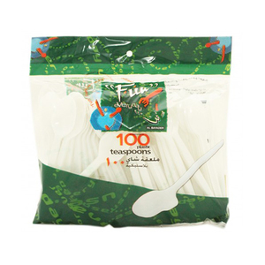 Fun Plastic Teaspoon 100s