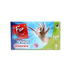 Al Bayader Vinyl Gloves 100pc