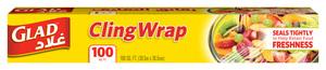 Glad Cling Wrap 100 Sqft 12pc