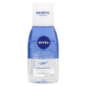 Nivea Double Effect Eye Makeup Remover Sensitive Lashes Protection 125ml