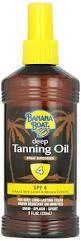 Banana Boat Tanning Oil Spf 4 236ml